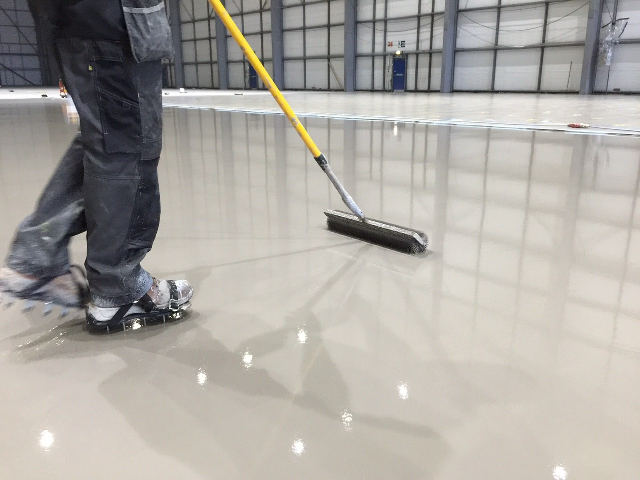 pump screed flooring