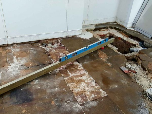 Buxted Park Hotel - repairs